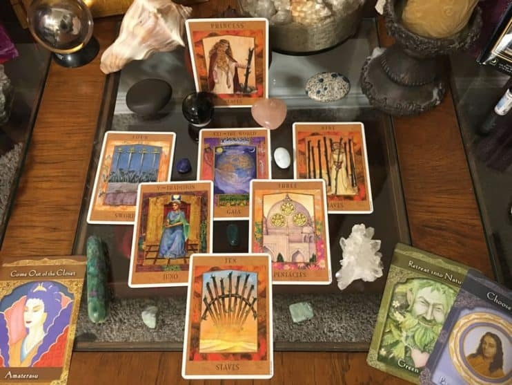 divine masculine tarot reading cards